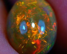 2.65 CT Multi Chaff Pattern!!  Welo Ethiopian Opal-HA220