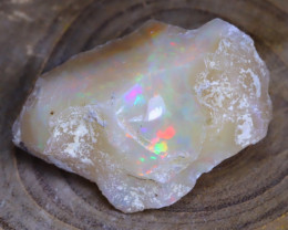 Welo Rough Opal 27.55Ct Natural Ethiopian Faceted Grade Opal E2704