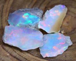 Welo Rough Opal 16.75Ct Natural Ethiopian Faceted Grade Opal E2711