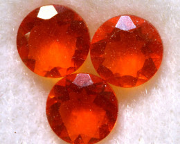 0.97CTS MEXICAN FIRE OPAL FACETED STONE PARCEL  FOB -2251