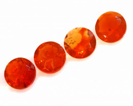 2.15CTS MEXICAN FIRE OPAL FACETED STONE PARCEL  FOB -2252