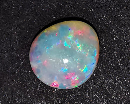 Solid White Crystal Opal - Coober Pedy Australia - 0.52 Cts