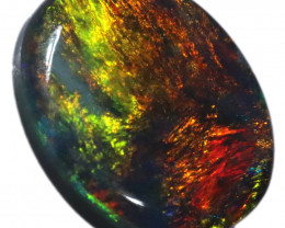 0.65 CTS BLACK OPAL STONE-FROM LIGHTNING RIDGE - [LRO1158]