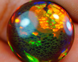 """4.43CT """"RARE FIND """" INVESTMENT GRADE WELO BLACK ETHIOPIAN OPAL-JAA250"""