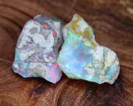 Welo Rough 26.25Ct Natural Ethiopian Gamble Rough Opal Cab Specimen E3107