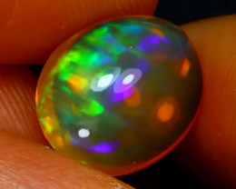 Welo Opal 3.75Ct Natural Ethiopian Play of Color Opal J0305/A44