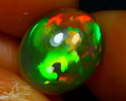 Welo Opal 3.86Ct Natural Ethiopian Play of Color Opal J0312/A44