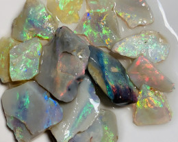 SELECT BRIGHT ROUGH OPALS FOR CUTTERS - 40 CTS #464