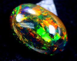 3.54cts Natural Ethiopian Smoked Opal / HM318