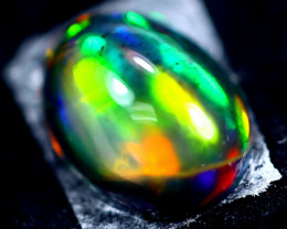 2.15cts Natural Ethiopian Smoked Opal / HM304