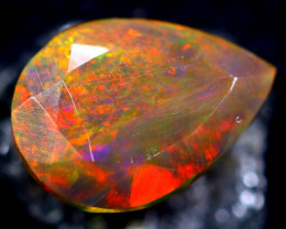 1.47cts Natural Ethiopian Smoked Faceted Opal / BF2076
