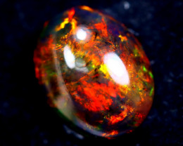 2.96cts Natural Ethiopian Smoked Opal / HM329