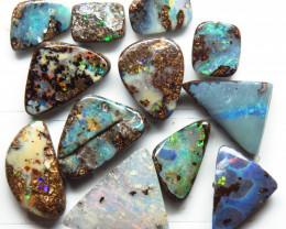 17.45ct Queensland Boulder Opal 12 Stone Parcel