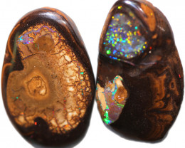 51.60 CTS YOWAH OPAL WITH PAINTED LADY INSIDE [BMA9601]