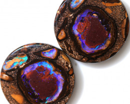 50.10 CTS YOWAH PAIR OPAL WELL POLISHED [BMA9602]