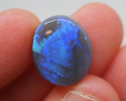 4.69CT Dark Opal Lightning Ridge JS