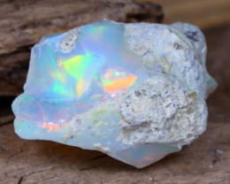 Welo Rough 9.42Ct Natural Ethiopian Play Of Color Facet Rough Opal F0306