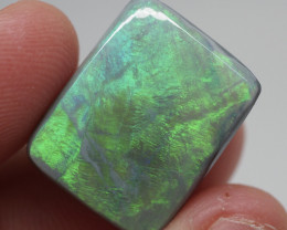 14CT Black Opal  Lightning Ridge  JS