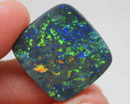 9.60CT Black Opal  Lightning Ridge  JS