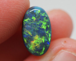 3.44CT Black Opal  Lightning Ridge  JS