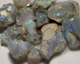 NOBBY ROUGH OPALS- BRIGHT & POTENTIAL MATERIAL #487