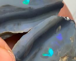 HUGE Black Seam Split with Colour Bar
