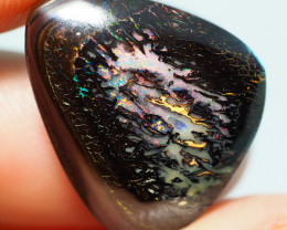 19.4CTS    YOWAH OPAL WITH AMAZING PATTERN  BJ191