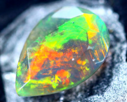 0.93cts Natural Ethiopian Smoked Faceted Opal / BF2206