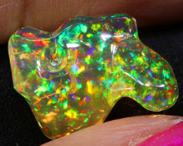 3.35 CTS MEXICAN FIRE OPAL   FOB -2291