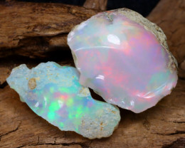 Welo Rough 10.62Ct Natural Ethiopian Play Of Color Rough Opal D0503