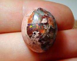 22.12ct Mexican Matrix Cantera Multicoloured Fire Opal