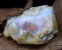 Welo Rough 15.41Ct Natural Ethiopian Play Of Color Facet Rough Opal F0504