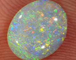 1.1ct 9x7.5mm Solid Lightning Ridge Crystal Opal [LO-2421]