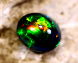 2.05cts Natural Ethiopian Smoked Opal / HM298