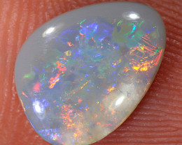 1.3ct 11x8.4mm Solid Lightning Ridge Dark Opal [LO-2428]