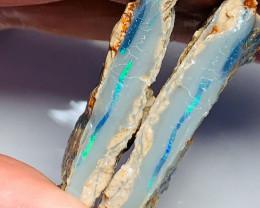 Split Opal - Bright Gem Grade to Cut Matching Pair