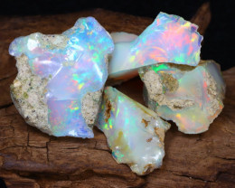 Welo Rough 15.21Ct Natural Ethiopian Play Of Color Rough Opal F1004