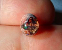 3.79ct Mexican Matrix Cantera Multicoloured Fire Opal