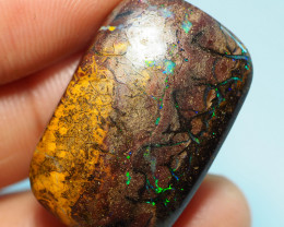 39.85CTS  YOWAH OPAL WITH AMAZING PATTERN  BJ228