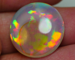 12.130 GORGEOUS ROUND CRYSTAL NEON FULL COLOR WELO OPAL
