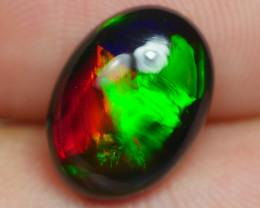 2.275 CRT BEAUTIFULL SMOKED ROLLING FLASH FLORAL PATTERN WELO OPAL