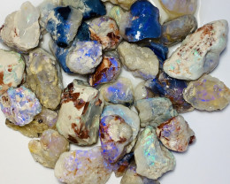 BRIGHT NOBBY ROUGH OPALS - 550 CTS #569