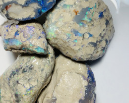 COLOURFUL NOBBR ROUGH MATERIAL TO CARVE - 330 CTS #572