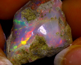 Multi Color Play Ethiopian Welo Opal Rough