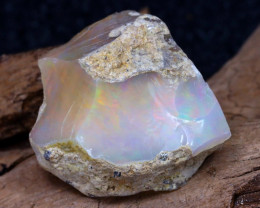 Welo Rough 15.82Ct Natural Ethiopian Play Of Color Rough Opal F1503