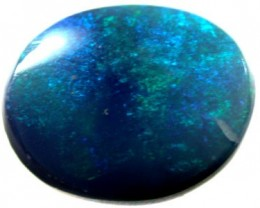 GREEN FLASH BLACK OPAL 3.30 CTS OT666