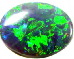 BRILLIANT RICH GREEN SPARKLING FIREOPAL 1.35 CT OT711