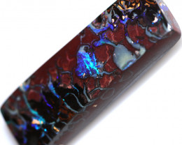 63.98 CTS BOULDER OPAL-WELL POLISHED  [BMA9642]