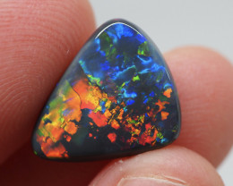 4.06CT Black Opal  Lightning Ridge  DM
