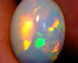 4.65 CT Broad Patchwork Pattern!! Welo Ethiopian Opal-HA825